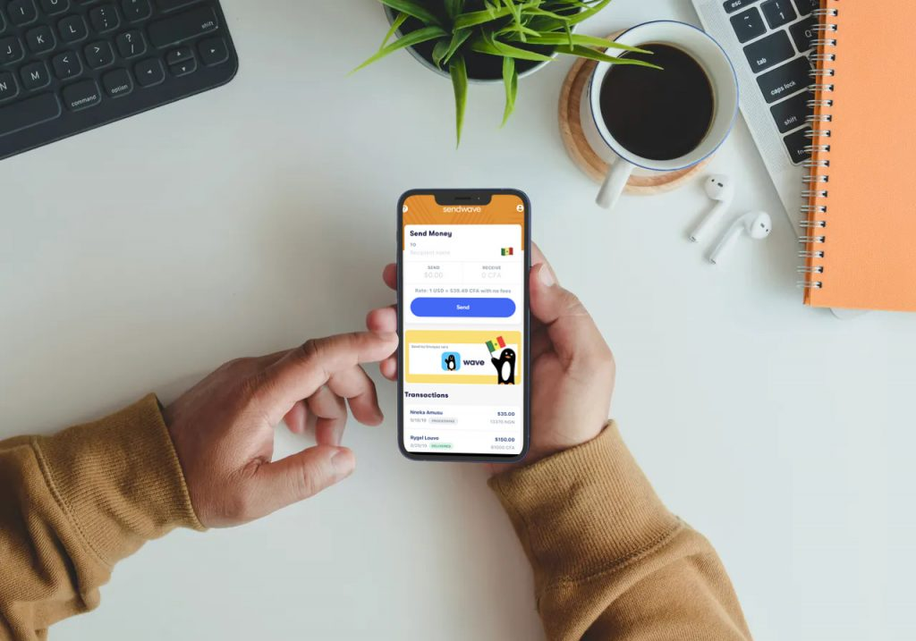 How to send money online with SendWave mobile app