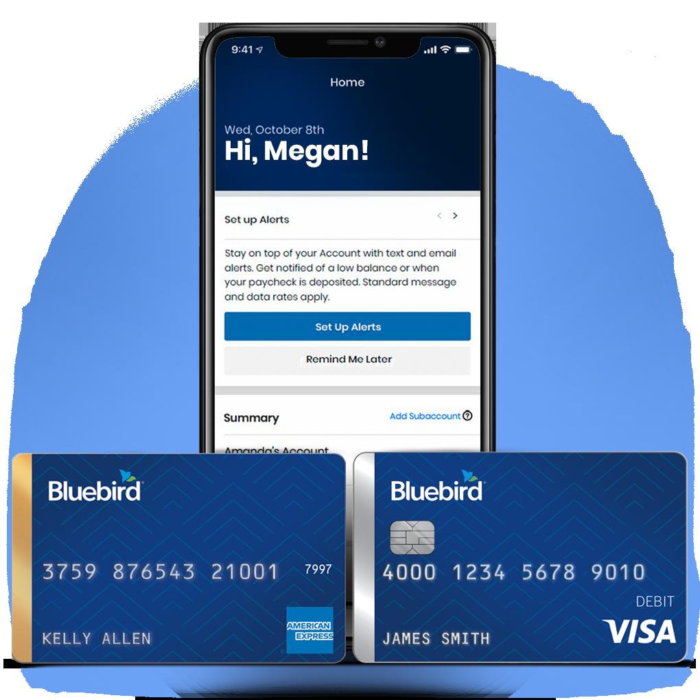 Bluebird Prepaid Debit Account