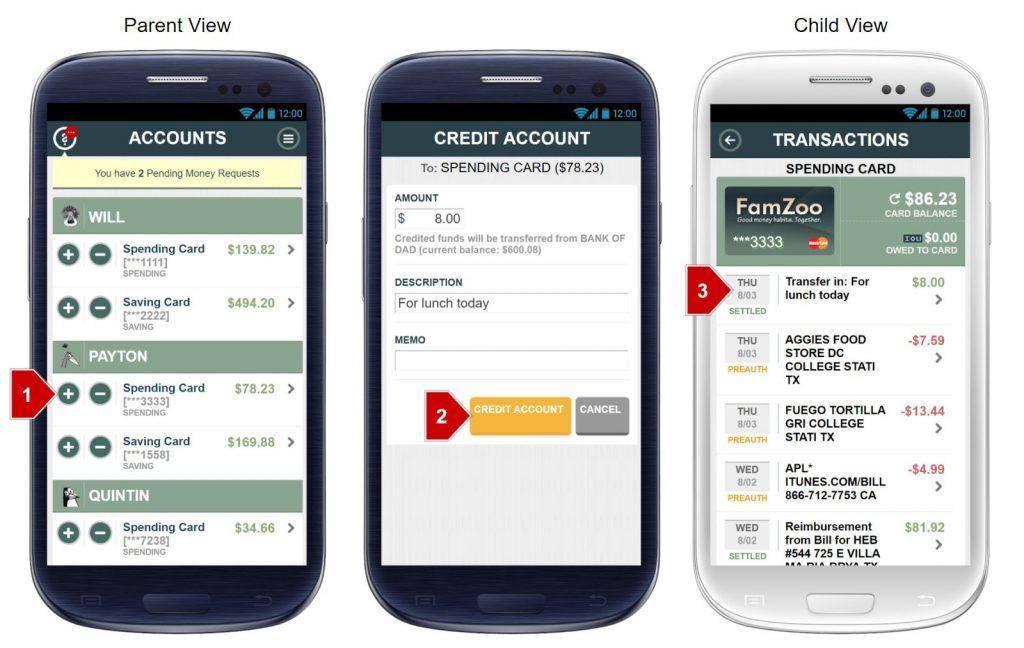 FamZoo Prepaid Debit Card