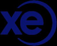 XE money transfer logo